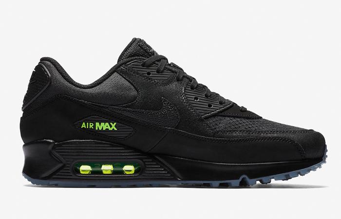 d9039a4177 ... Nike Air Max 90 Black Volt AQ6101-001 03 ...