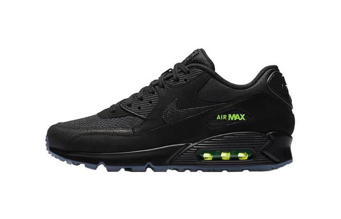 de5ee74976 Nike Air Max 90 Black Volt AQ6101-001 – Fastsole