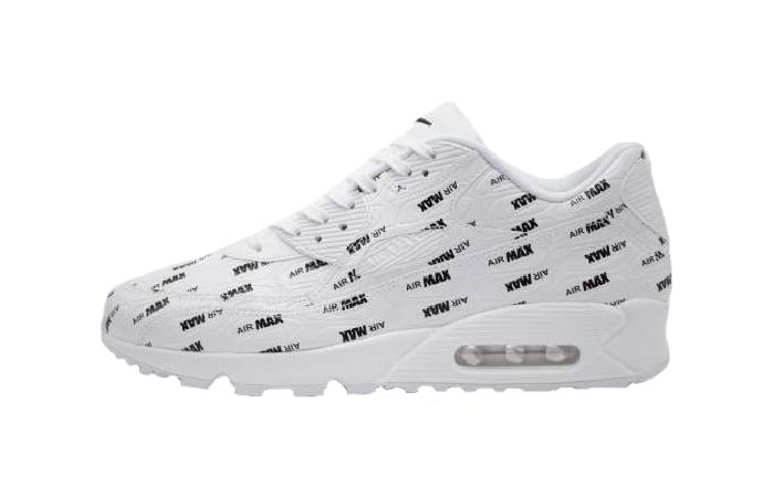 the best attitude b1626 d73cb Nike Air Max 90 Premium White 700155-103 01 ...