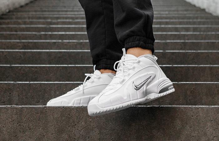 Nike Air Max Penny 1 White Metallic 685153 100 The Sole