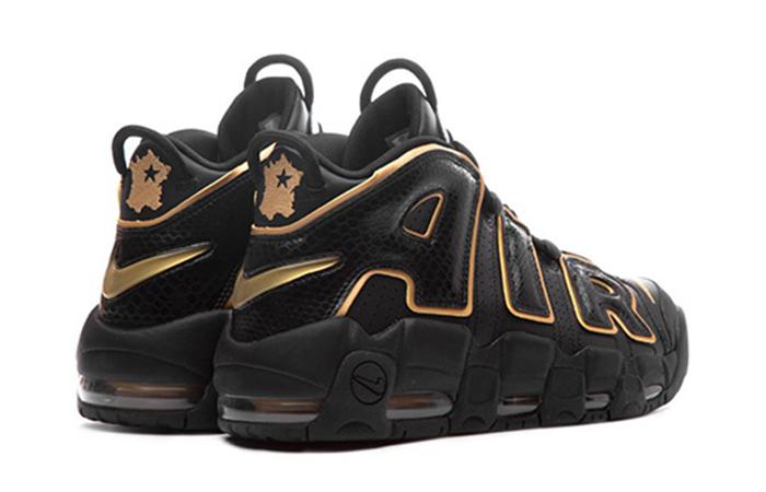 grand choix de e3f79 e15e0 Nike Air More Uptempo France Black Gold AV3810-001