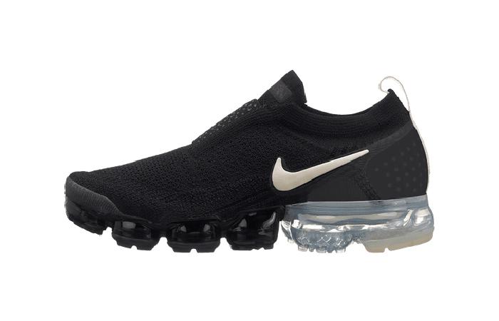 buy online 2af52 bbd38 Nike Air VaporMax Flyknit MOC 2 Black Womens AJ6599-002