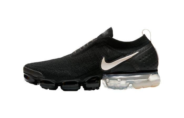 size 40 34101 a00eb Nike Air VaporMax Flyknit Moc 2 Black Cream AH7006-002