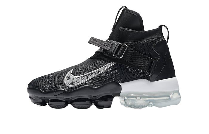 39510c56ca0d9 Nike Air VaporMax Premier Flyknit Black Silver AO3241-002 – Fastsole