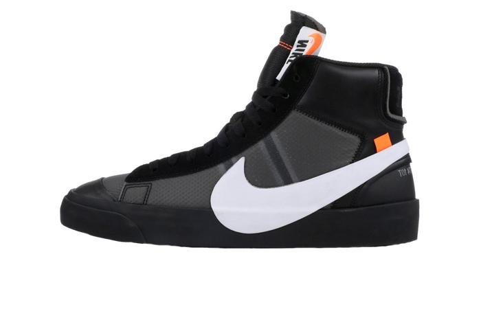 huge discount c7089 0e8a3 Off-White x Nike Blazer Studio Mid All Black AA3832-001 01 ...