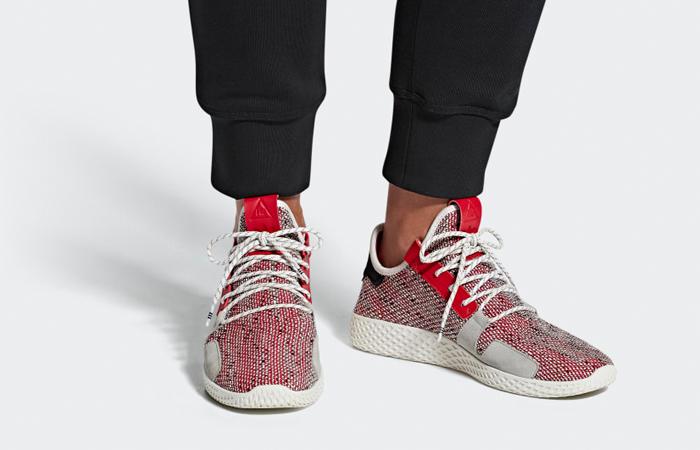25e9d9837 Pharrell adidas Afro Tennis Hu V2 Red White BB9542 – Fastsole