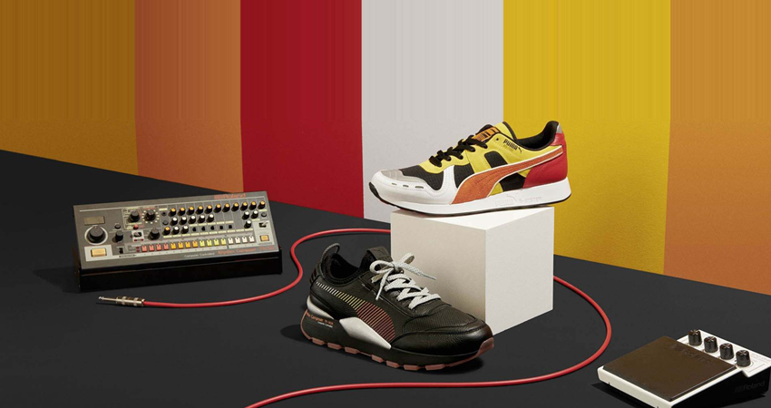 Puma And Roland Teamed Up To Drop Two RS Sneaker