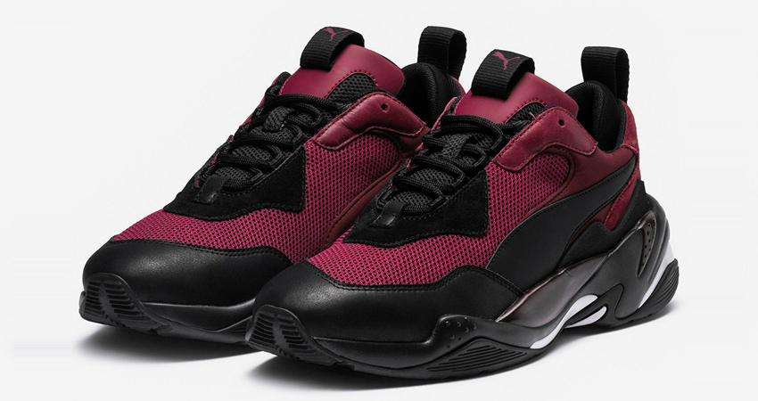 Spectacle Dark Colour Conquers The Latest Puma Thunder Spectra