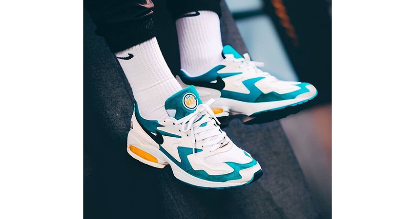 The Nike Air Max2 Light On Foot Look