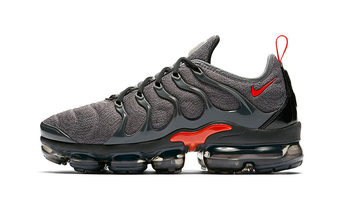 The Nike Air VaporMax Plus To Drop In Grey And Red Colourway ft