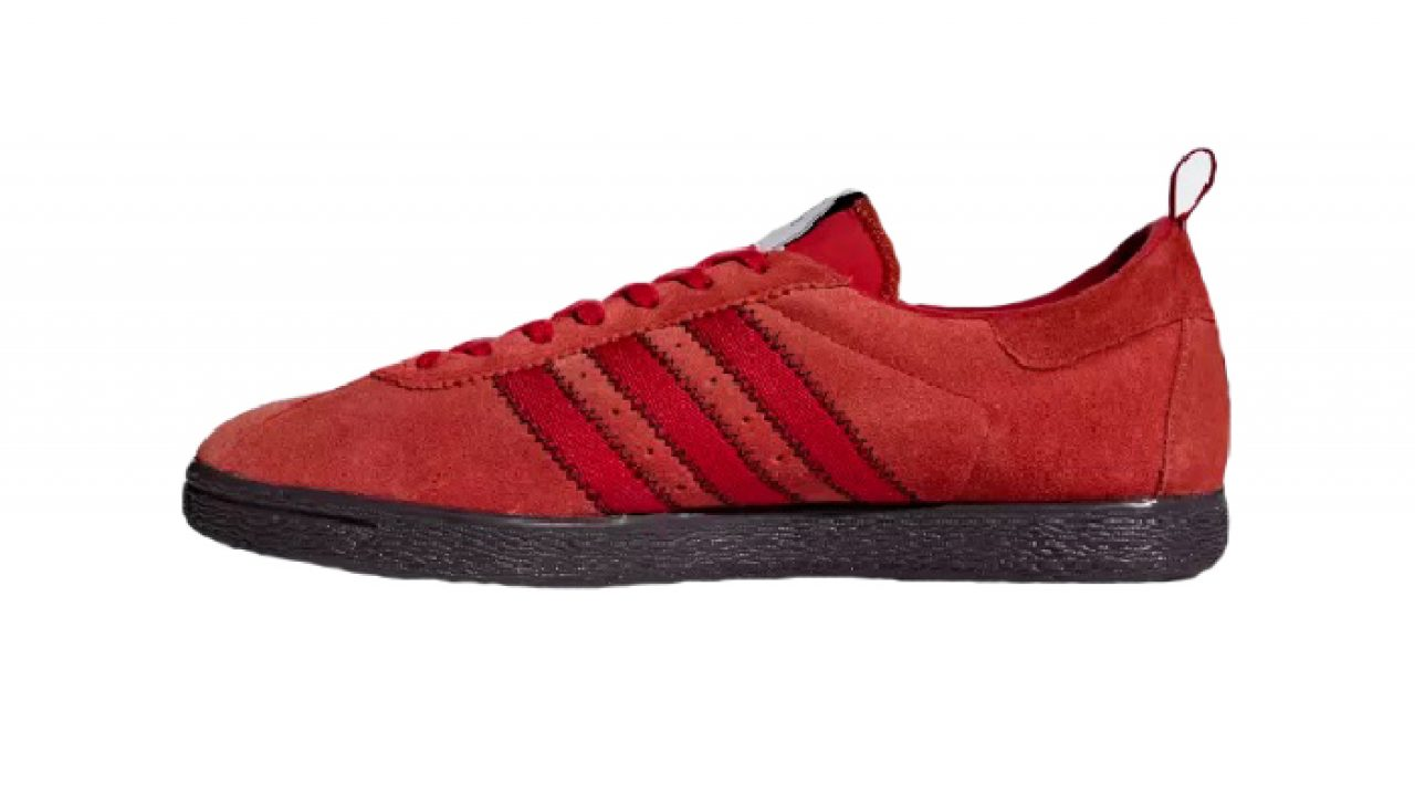 new product 7afb7 4c680 adidas CP Company Tobacco Brick Red BD7959