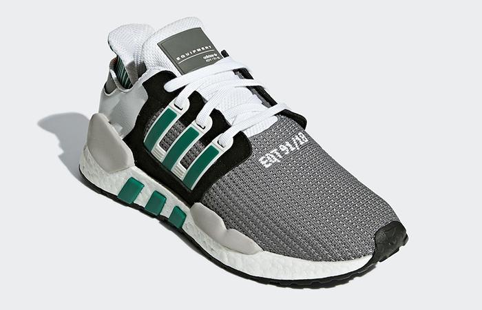 outlet store 19a18 dcc73 adidas EQT Support 91/18 Black Green AQ1037