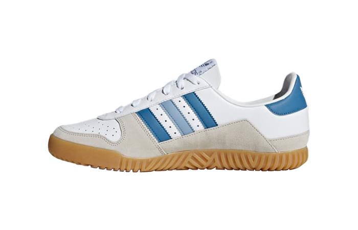 adidas Indoor Comp SPZL White Blue