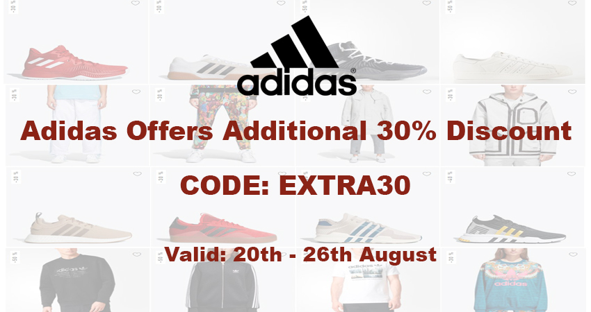 adidas Lucky Sizes Campaign Offers An Extra 30% Discount