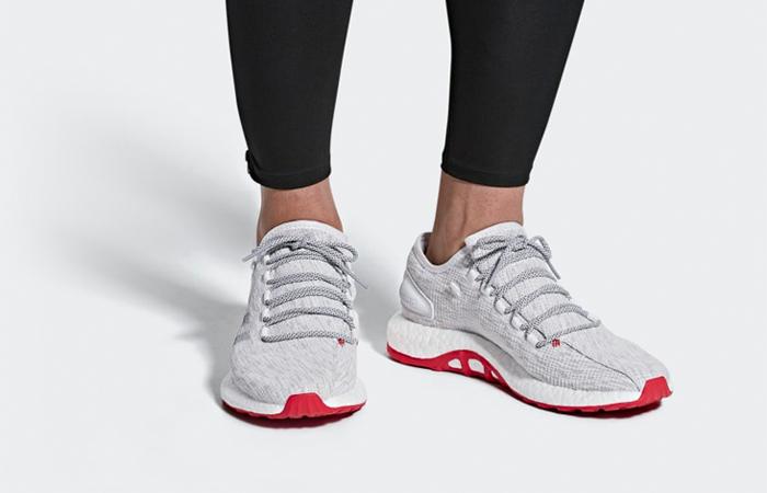 fa6ee03f9 adidas Pureboost White Grey CM8333 · adidas Pureboost White Grey CM8333 01  ...