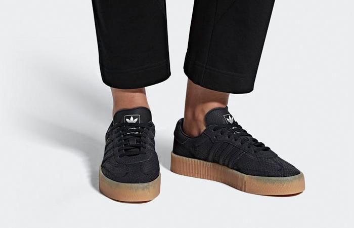 ae37dfc1cbd adidas Sambarose Black Womens B28157 – Fastsole