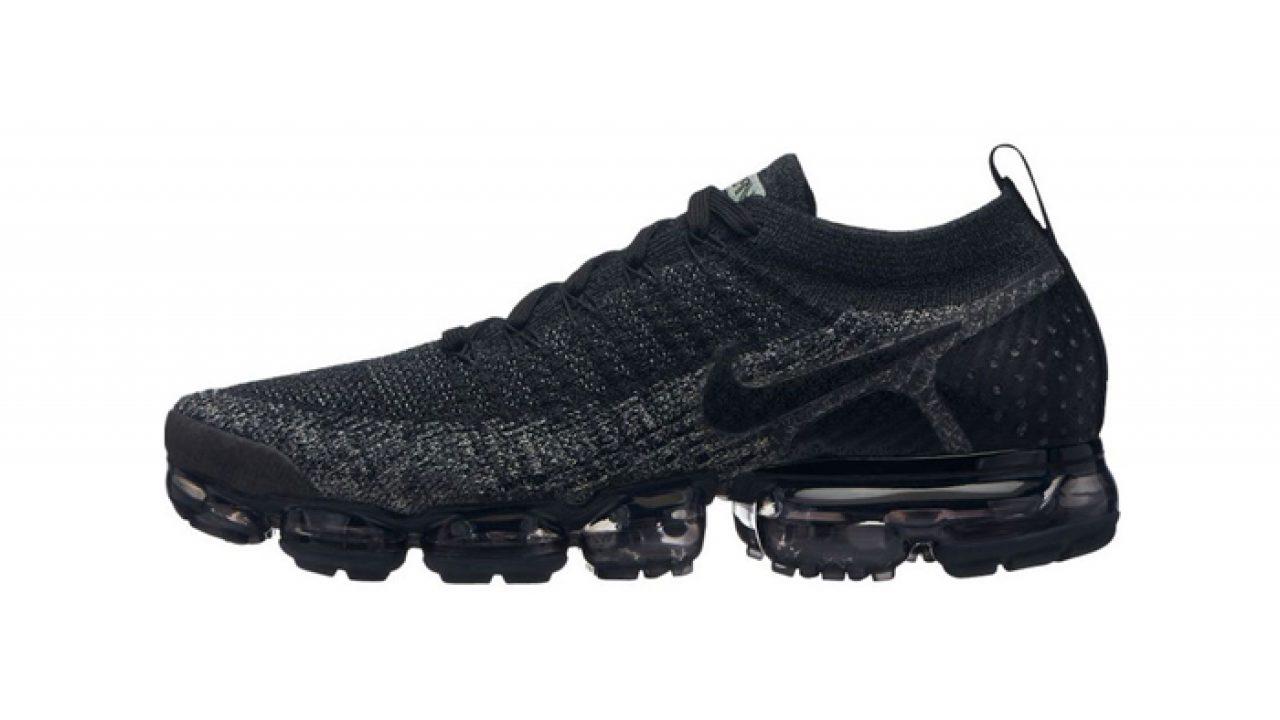 8d089f3ef5a Nike Air VaporMax Flyknit 2 Black Grey 942842-012 – Fastsole