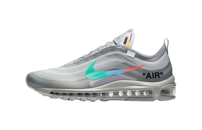 Off-White Nike Air Max 97 Grey Menta AJ4585-101 01