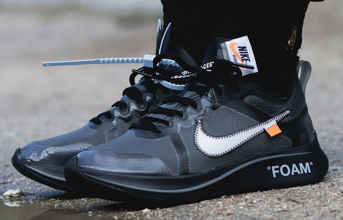 11c98c2dd84 Off-White x Nike Zoom Fly Black White AJ4588-001