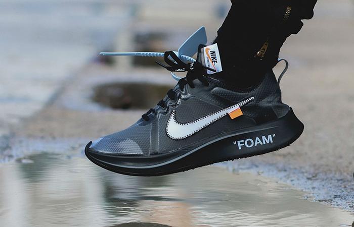 nike zoom fly black off white scarpe