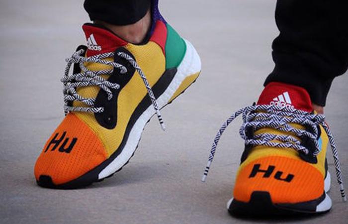 3adeb103b05c7 Pharell Williams adidas Solar HU Glide Yellow Multi Womens DB3038 ...