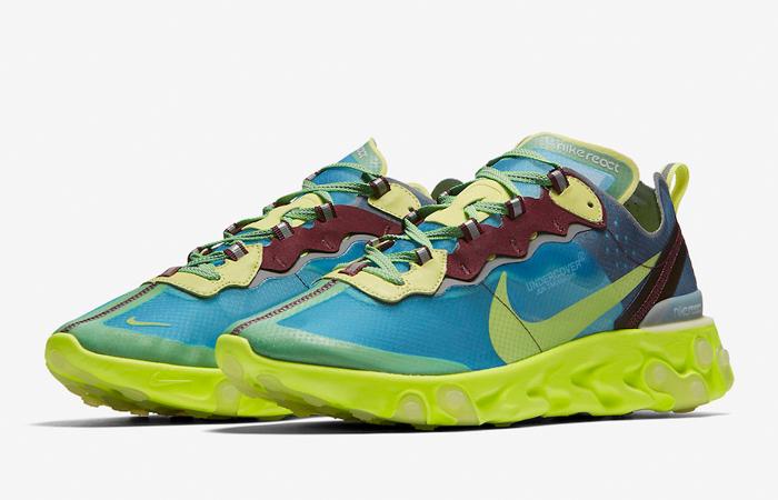 Underbar UNDERCOVER Nike React Element 87 Blue Volt BQ2718-400 – Fastsole NQ-67