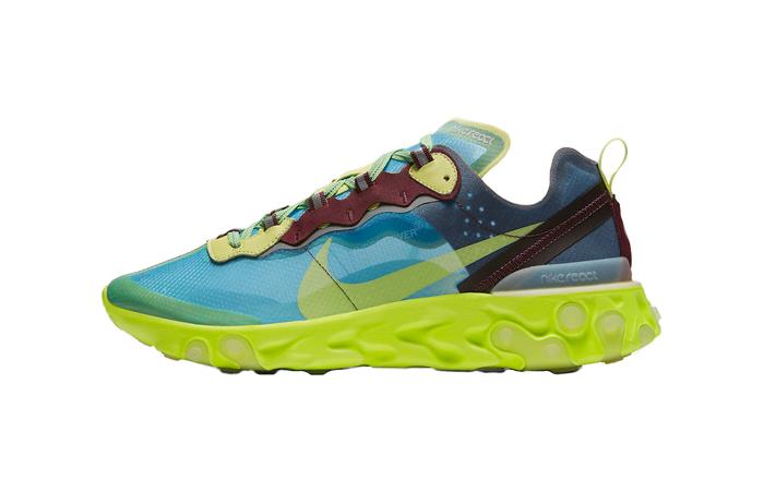 Kända UNDERCOVER Nike React Element 87 Blue Volt BQ2718-400 – Fastsole ZG-86
