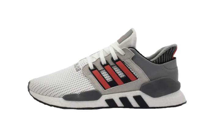 promo code 2ef06 c41f1 adidas EQT Support 9118 Grey Red B37521