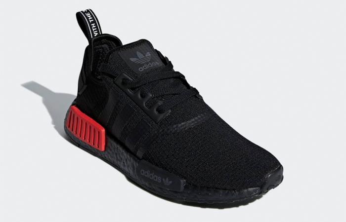 adidas NMD R1 Black Red B37618 – Fastsole
