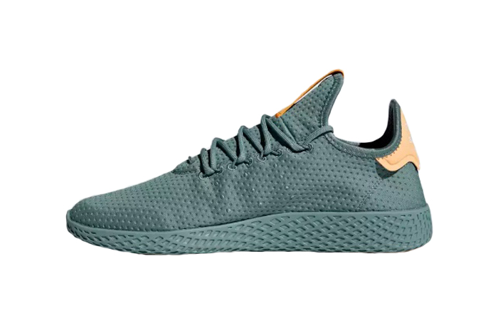 so cheap factory outlets dirt cheap adidas Pharrell Williams Tennis HU Raw Green B41808 – Fastsole