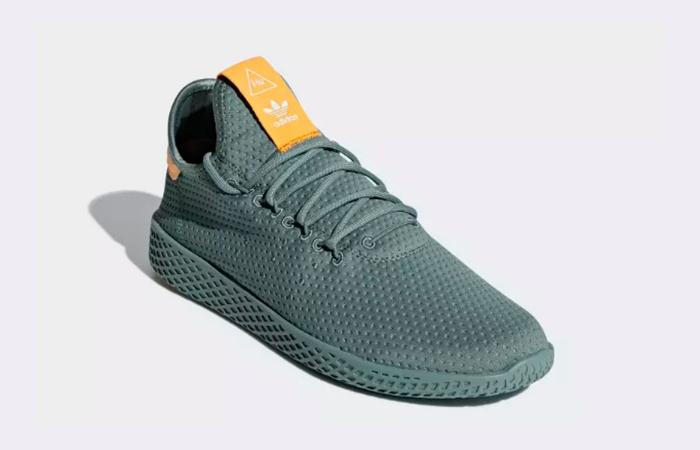 f48ba9c0e31ce adidas Pharrell Williams Tennis HU Raw Green B41808 – Fastsole