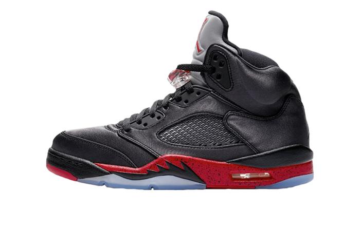 new product c58fd 2a356 Air Jordan 5 Retro Black Red 136027-006