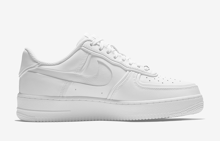 brand new 33e75 d9dd9 John Elliott Nike Air Force 1 Low Triple White AO9291-100