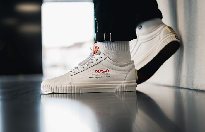 NASA Vans Old Skool Space Voyager White G1UP91