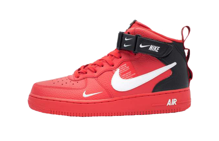 2c9a20545b09b Nike Air Force 1 Low 07 LV8 Red 804609-605 – Fastsole
