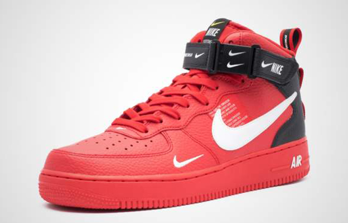53a5d342dc3d2 ... Nike Air Force 1 Low 07 LV8 Red 804609-605 03 ...