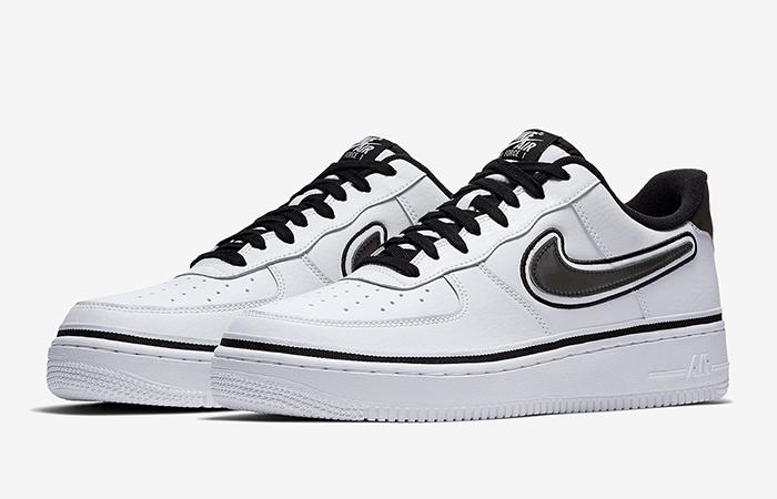 966fd4b4 Nike Air Force 1 Low Sport NBA White Black AJ7748-100