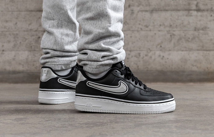 Buy Black Nike Air Force 1 Low | JD Sports