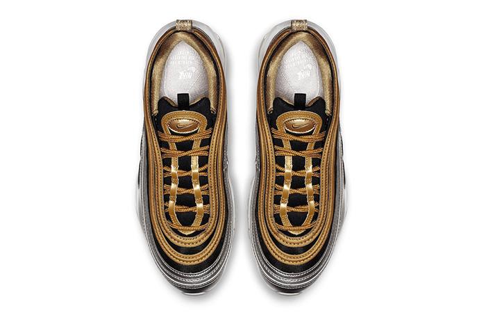 544c06e3cc ... Nike Air Max 97 Metallic Silver Gold AQ4137-700 03 ...