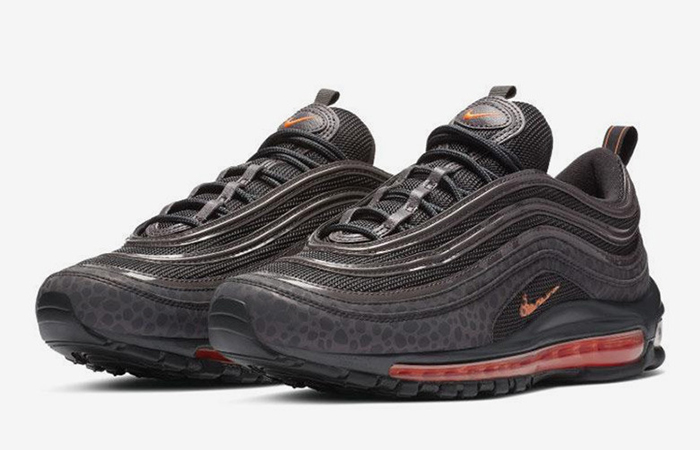 pretty nice 8a84e 60a15 Nike Air Max 97 Safari Grey Orange BQ6524-001
