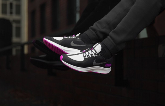 best service 099d6 0267b Nike Air Zoom Pegasus 35 Shield Nrg Black Violet BQ9779-001