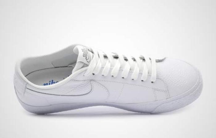 Nike SB Zoom Blazer Low NBA Triple White AR1576 114