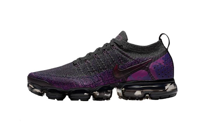 Nike VaporMax Flyknit 2.0 Black Purple