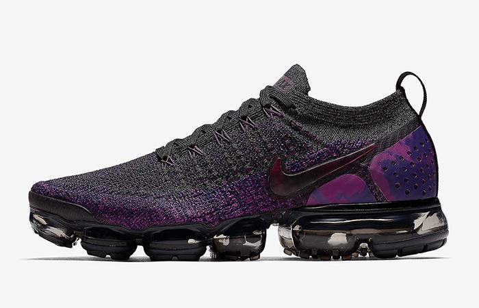 Nike VaporMax Flyknit 2.0 Black Purple Release Date ft