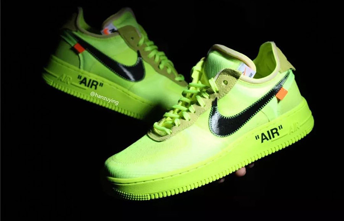 Off-White Nike Air Force 1 Low Volt Releasing Soon ft