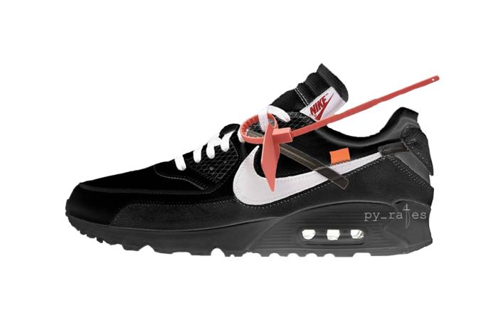 official photos a6f68 e7109 Off-White Nike Air Max 90 Black White AA7293-001