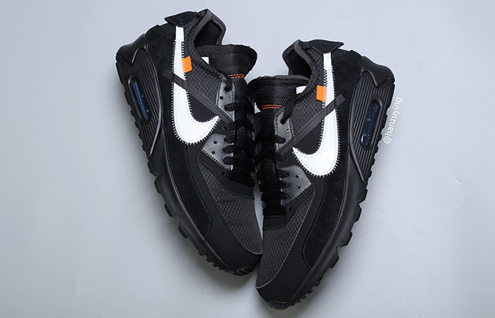 Off-White Nike Air Max 90 Black White Releasing This Fall ft