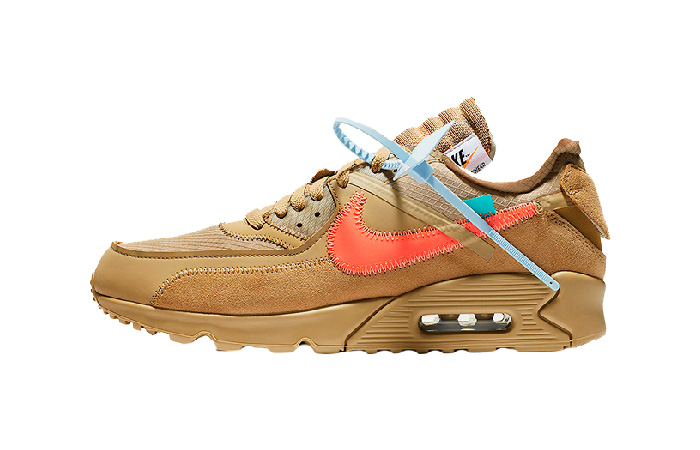 Off-White Nike Air Max 90 Desert Ore AA7293-200 01