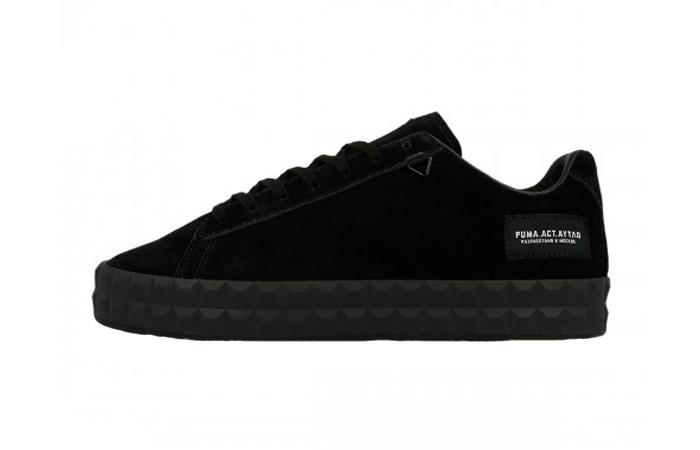 fff00af7727 Outlaw Moscow Puma Court Platform Black 367097-01 – Fastsole