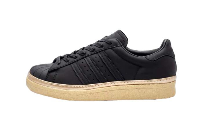 san francisco 1b243 4d1b3 adidas Superstar 80s New Bold Black Womens B28041